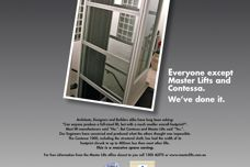 Master Lifts Contessa Lift