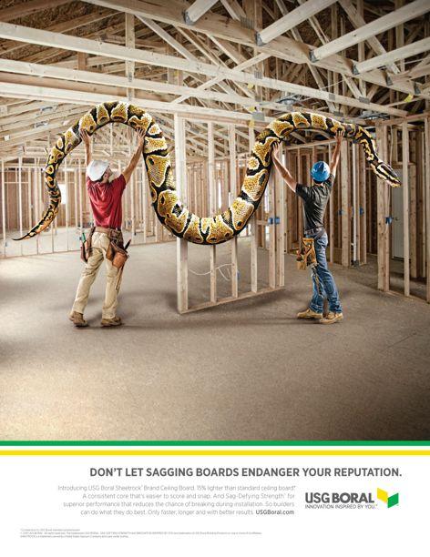 USG Boral Sheetrock Brand Ceiling Board