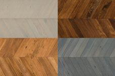 Preassembled chevron planks by Havwoods