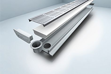 The A40 drainage system is one of a range of architectural drainage systems from Aquabocci.