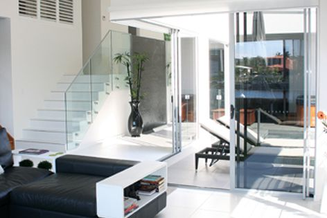 Trend sliding doors can accommodate openings up to 3 metres high and 5 metres wide.