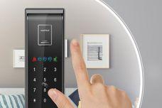 Digital door lock by Häfele
