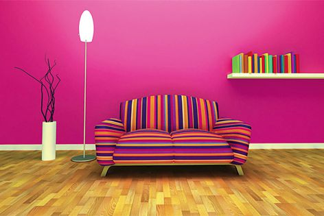 Haymes Paint's U R Artiste theme, part of the 2013 Colour Expressions Forecast.
