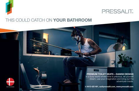 Premium toilet seats by Pressalit