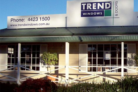 Trend Showroom At Nowra By Trend Windows Amp Doors Pty Ltd
