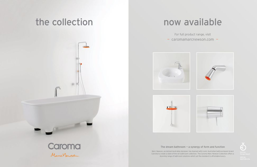 Caroma Marc Newson collection from GWA