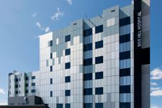 Rolled aluminium facades by Solidal