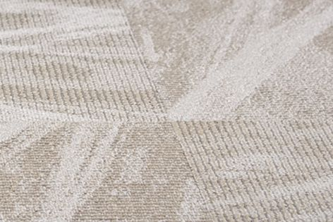 Brush Stroke modular carpet tiles from Masland Contract are suitable for hightraffic installations.