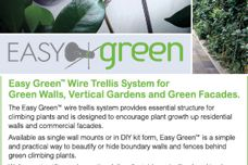 Easy Green trellis system from Ronstan