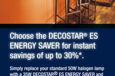 Decostar ES energy-saver lighting
