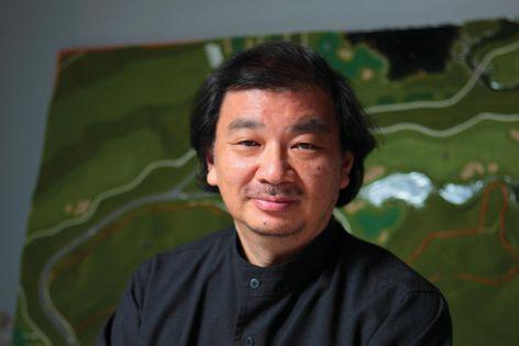 ArchitectureAP Symposium speaker Shigeru Ban.