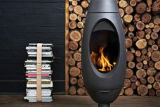 Ove fireplace from Oblica