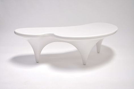 Anima coffee table is constructed from fibreglass and resin and can be used indoors or out.