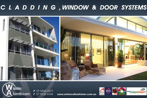 Wintec cladding, window and door systems