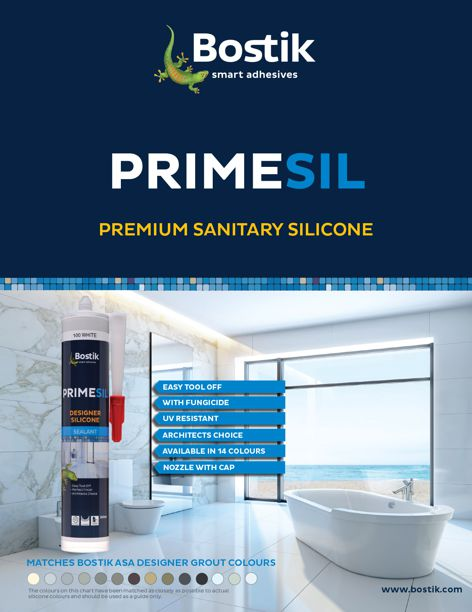 Primesil sealant by Bostik