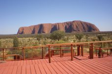 Concrete boardwalks create new uluru experience
