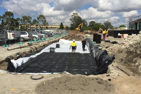 A 126,000-litre VersiTank was recently installed at the Werribee Baptist Church project in Melbourne.