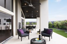 Veitch outdoor channels used in boutique homes