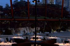 Erco lights at Guillaume at Bennelong